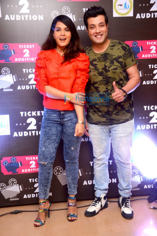 Celebs snapped attending the Ticket2Audition event