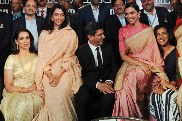 Deepika Padukone gets teary-eyed as dad Prakash Padukone ...