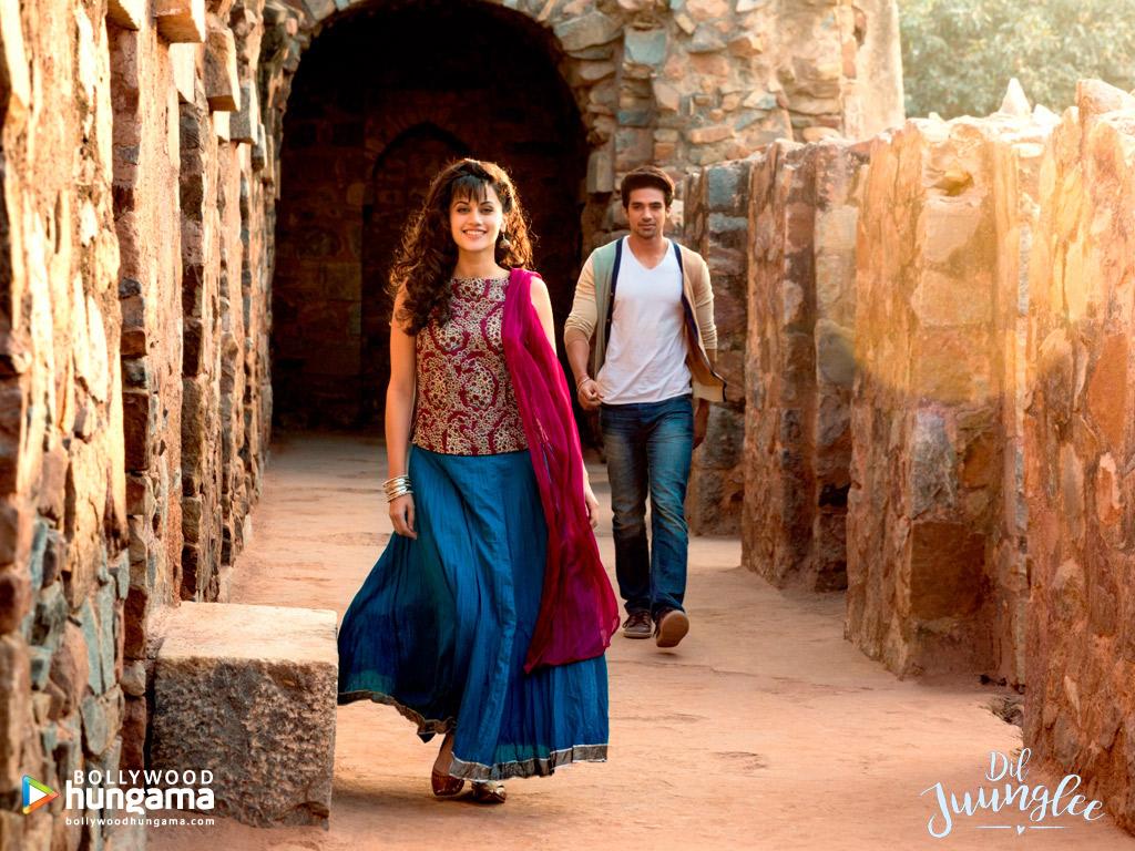 Wallpaper Of The Movie Dil Juunglee