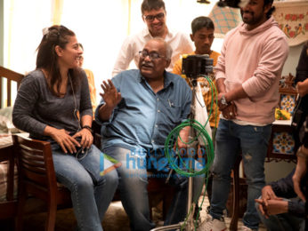 On The Sets Of The Movie Eela