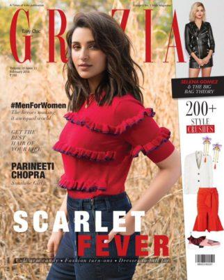Parineeti Chopra On The Cover Of Grazia