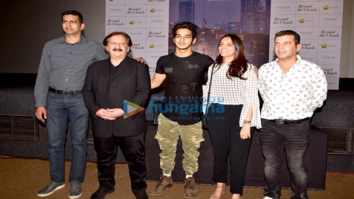 Ishaan Khatter, AR Rahman, Majid Majidi at the Beyond The Clouds trailer launch