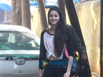 Kareena Kapoor Khan and Ananya Pandey spotted at a gym in Khar