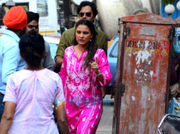 Lara Dutta snapped at Indigo in Bandra