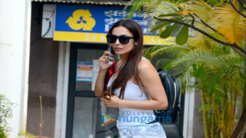 Malaika Arora spotted at the gym