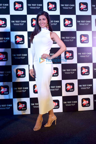 Nimrat Kaur snapped promoting her web series 'The Test Case' in Delhi