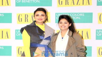 Parineeti Chopra graces the Grazia magazine cover launch