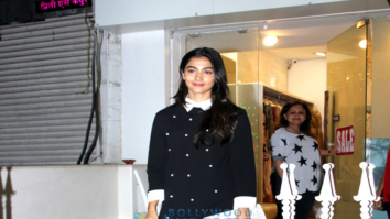 Pooja Hegde spotted at a store in Bandra