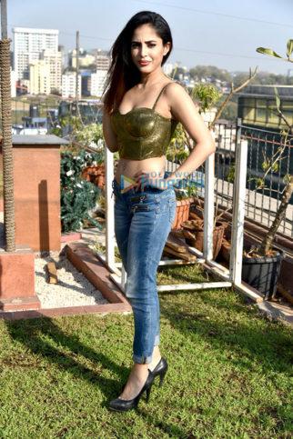 Priya Banerjee snapped at a photoshoot