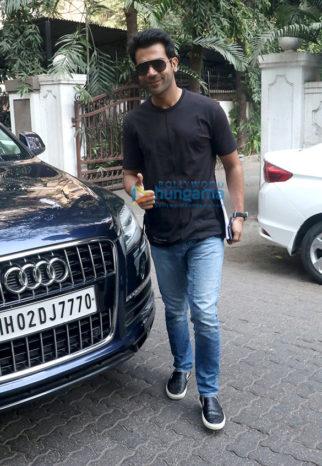 Rajkummar Rao spotted at Maddock Films' office