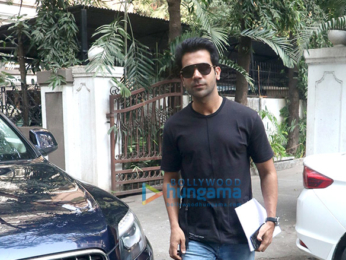 Rajkummar Rao spotted at Maddock Films' office
