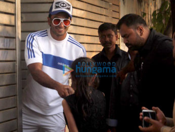 Ranveer Singh and Alia Bhatt snapped at Zoya Akhtar's residence
