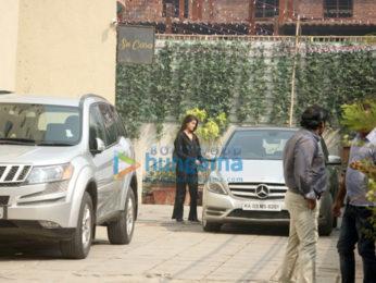 Rhea Chakraborty and Nidhi Agerwal snapped at Reset gym