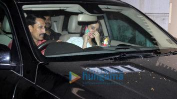 Shraddha Kapoor, Rajkummar Rao, Varun Sharma spotted at Maddock office for screentest