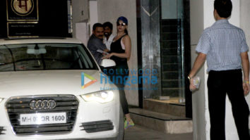 Sonal Chauhan spotted at the gym