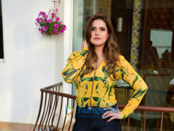 Zareen Khan and Karan Kundra meet media as a part of '1921' promotions