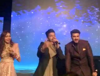 WATCH: Arjun Kapoor danced his heart out with Karisma Kapoor, Guru Randhawa, Karan Johar, Badshah at Mohit Marwah- Antara Motiwala's wedding