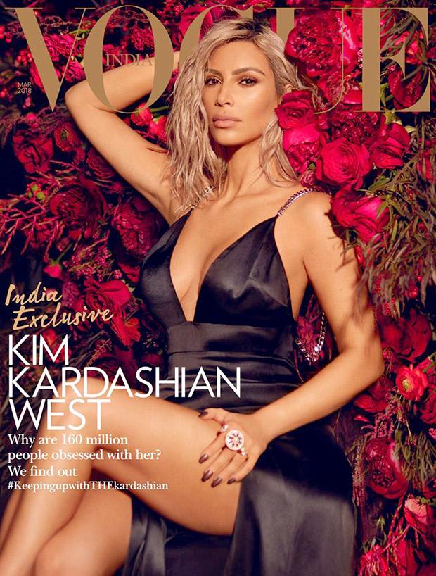 Bold, brazen and beautiful – Kim Kardashian in Philipp Plein for Vogue India