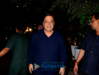Celebs grace Manmohan Shetty's birthday party at Olive in Bandra