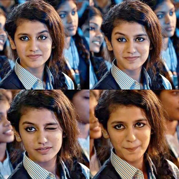 Priya Prakash Varrier: The internet sensation with the deadly wink!