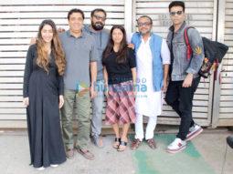 Karan Johar, Anurag Kashyap, Dibakar Banerjee, Ronnie Screwvala snapped at Zoya Akhtar's house