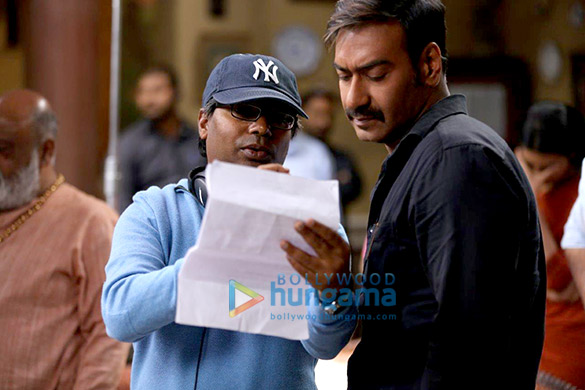 On The Sets Of The Movie Raid