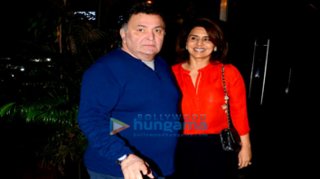 Rishi Kapoor, Neetu Kapoor, Karisma Kapoor and others grace Randhir Kapoor's birthday bash in Bandra