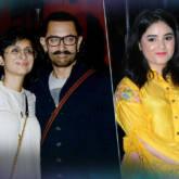 Success Party Of 'Secret Superstar' Aamir Khan Kiran Rao Zaira Wasim