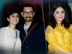 Success Party Of 'Secret Superstar' Aamir Khan Kiran Rao Zaira Wasim