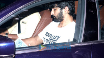Sushant Singh Rajput and Sara Ali Khan spotted at Abhishek Kapoor's office