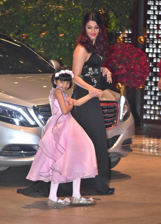 Aaradhya Bachchan in Gauri and Nainika ruffle dress
