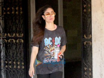 Kareena Kapoor Khan snapped at the gym