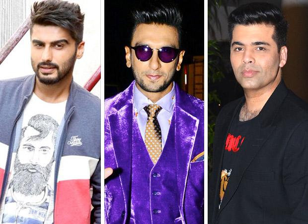 Arjun Kapoor - Ranveer Singh 'Roasted' again, Karan Johar blames himself