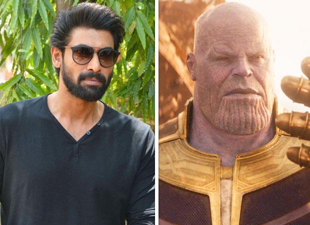 Bahubali star Rana Daggubati dubs for Avengers super villain Thanos in the Telugu version