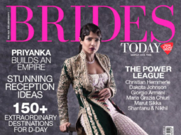 Priyanka Chopra On The Cover Of Brides
