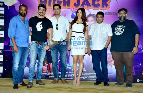 Celebs grace the trailer launch of the film High Jack