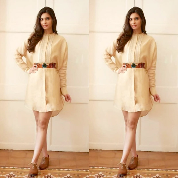 Diana Penty makes brown chic for summers
