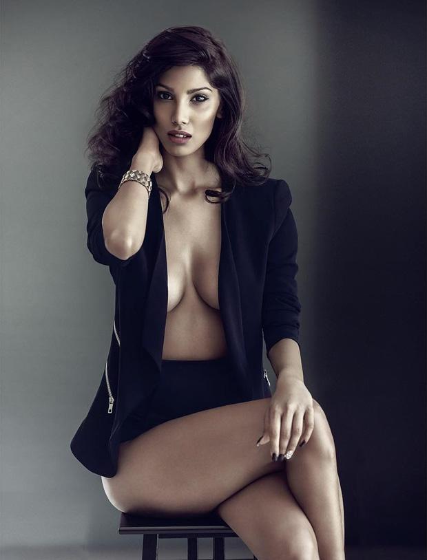 HOTNESS: No shirt just blazer, Nicole Faria's BOLD photoshoot is breaking the internet