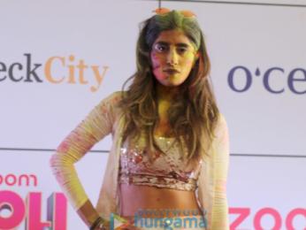 Huma Qureshi, Urvashi Rautela, Maniesh Paul and others grace the Zoom Holi Party 2018