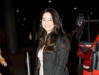 Ileana D'Cruz, Aftab Shivdasani, Elli Avram and others snapped at the airport