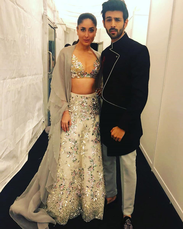 Kareena Kapoor Khan and Kartik Aaryan strike a pose