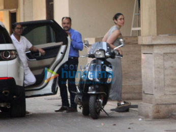 Kareena Kapoor Khan and Taimur Ali Khan spotted at Amrita Arora's house