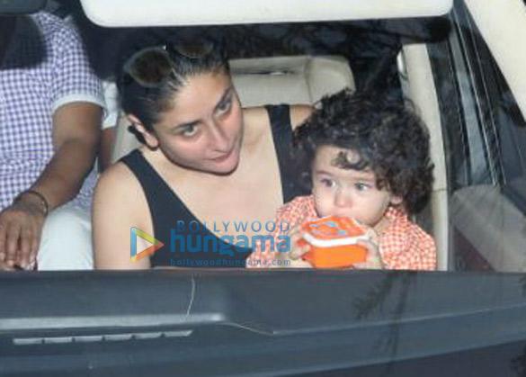 Kareena Kapoor Khan snapped with her son Taimur Ali Khan in Bandra