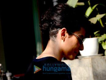Mandana Karimi spotted at The Kitchen Garden