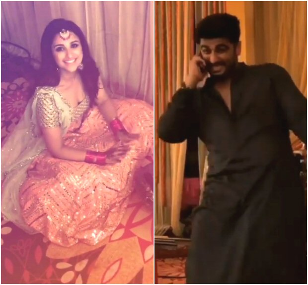 Namastey England: Arjun Kapoor and Parineeti Chopra gear up to a party in this dance shoot