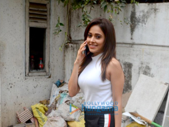 Nushrat Bharucha spotted at the Maddock Films office in Khar