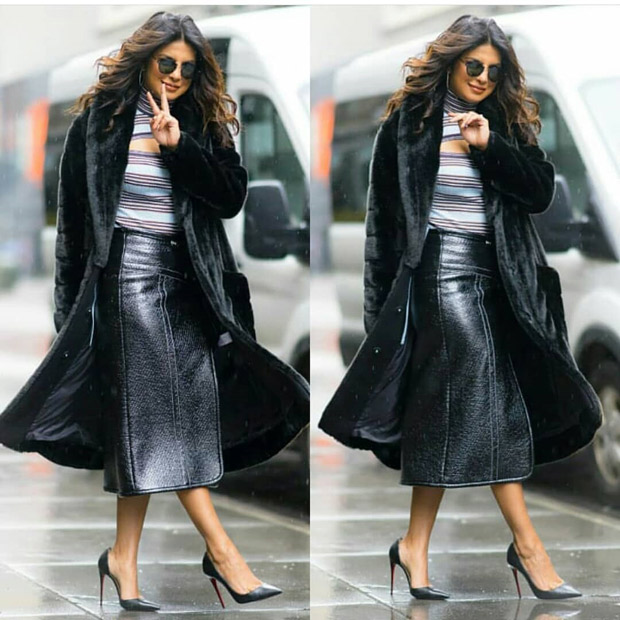 Priyanka Chopra aces the art of winter layering with a Marei coat