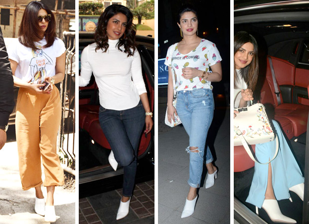 Priyanka Chopra and her torrid love affair with white heels and summer fashion