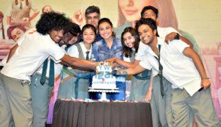 Rani Mukerji snapped at Hichki success party