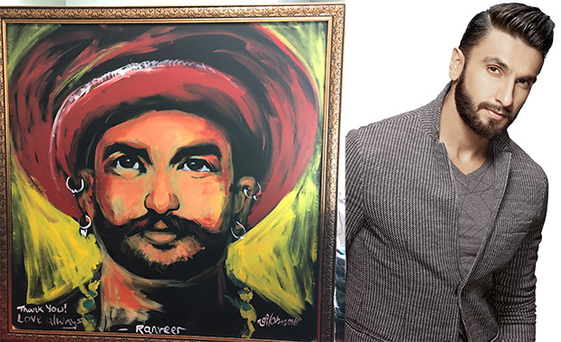 Ranveer Singh receives this special gift from a fan in Bajirao Mastani style